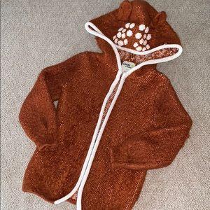 Oshkosh Sweater Jacket - Deer